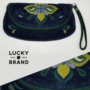 Lucky Brand ~ Velvet Wristlet